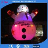 Décoration gonflable de Canta de Noël de bonhomme de neige