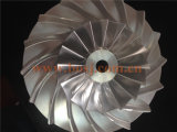 고품질 OEM 티타늄 지위 이동성 터빈 압축기 바퀴