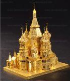 Сандалия миниой головоломки металла Qute 3D золотистая High-Heeled обувает подарок игрушек модели собрания малышей взрослого здания воспитательный