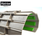 Hairise 821esf best selling durável usando corrente superior plana com borracha