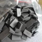 Punte del carburo del fornitore Ss10 per le lamierine di Widia della tagliatrice d'estrazione di pietra