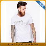 カスタム人のための綿のスパンデックスによって印刷されるTシャツ