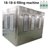 Frasco Pet automática suco de frutas de tomada de estanqueidade de enchimento de bebidas máquina de engarrafamento