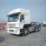 Sinotruk HOWO 371HP 3 차축 원동기 헤드 트랙터 트럭 콘테이너 트럭
