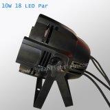 Профессиональные 18X10W RGBW 4в1 PAR светодиодный индикатор этап