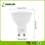 Nuevo diseño 4.5W FOCO LED GU10 3000K 6000K rebajado de 120 grados Bombilla de luz LED de ahorro de energía