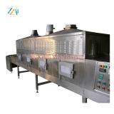 Secador de túnel de microondas em aço inoxidável / secador de alimentar a máquina