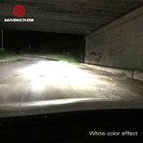 Markcars極度の明るい二重カラーH1h7 H4 H11 9005 LED車のヘッドライト