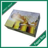 Flexo personalizadas impresas Pack de 6 caja de cerveza a la venta