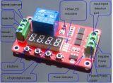 модуль переключателя отметчика времени времени цикла повторения PLC релеего Собственн-Замка DC 12V многофункциональный