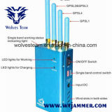 GPS portátiles de alta potencia (GPS L1/L2/L3/L4/L5) Jammer