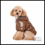 Los productos del perro de animal doméstico calientan la ropa del traje de Hoodie del mono de la ropa del invierno