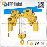 jeu inférieur de 440V Hsy prix électrique d'élévateur à chaînes de 1 tonne
