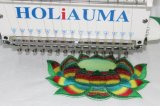 Holiauma única cabeza de la máquina de bordado de alta velocidad similar a Tajima