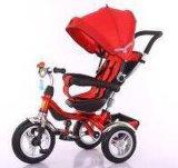 Preiswertes Baby-Dreirad scherzt Dreirad mit EVA-Gummireifen und Drehsitz