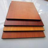 中国の12mmの厚さのコンパクトの密度の有機質繊維板の工場