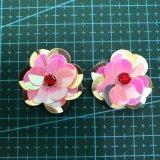 Accessorio 006 dell'indumento del fiore del Sequin