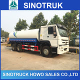 Caminhão de tanque do petroleiro da água de Sinotruk 15.5m3 para a venda
