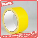 Cinta adhesiva impermeable amarilla del paño, cinta del conducto del paño