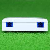 FTTH 2 puertos Mini caja de terminales de fibra óptica para la red