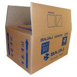 Comercio al por mayor impresas personalizadas de papel único cuadro de corrugado para embalaje