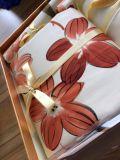 Роскошные шелка и хлопка смешанных печать отель/Home постельные принадлежности,