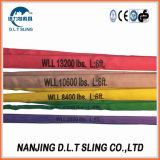 Wir Standardduplexaugen-Typ Material-Riemen-Polyester für das Anheben