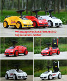 Автомобиль качания младенца 4 колес ягнится автомобиль игрушки