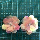 Accessorio 004 dell'indumento del fiore del Sequin