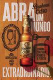 장식적인 주문품 포도 수확 맥주 주석 표시