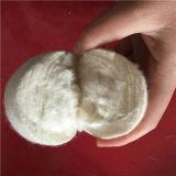 Шарики сушильщика шерстей войлока высокого качества супер белые Handmade при 6 пакуя