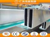 Superficie anodizzata profili della finestra di alluminio della stoffa per tendine di marca di Weiye
