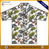 Китай Custom мужской моды полиэстер технология термосублимации красителей рубашки поло