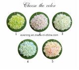 Il Hydrangea artificiale fiorisce il fiore artificiale della seta del mazzo di cerimonia nuziale dell'Australia dei fiori di cerimonia nuziale artificiale di corallo del Hydrangea