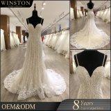 中国の方法女性レースの人魚の花嫁のウェディングドレスのガウン