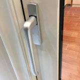 Porta de vidro de deslizamento de alumínio resistente do perfil