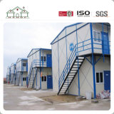 Zwei Fußboden-temporäres Architektur-Gebäude-Fertiglager-Haus für Projekte