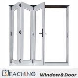 3 дверь Bi-Складывая алюминиевое Windows с двойным стеклянным Анти--Nosie доказательством воды