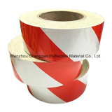 緑および白い縞デザイン反射マーキングの粘着テープ(C1300-S)