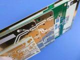 Le matériel PCB hybride mixtes PWB construit sur 10 mil RO4350b+FR4 avec Blind via