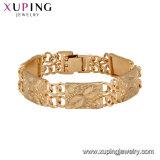 Armband van Zircon van de Luxe van de Kleur van de manier 18K de Gouden