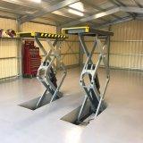 Equipamento de oficina Flush-Mount 3,5 toneladas Carro de tesoura hidráulica de elevação (SX08F)