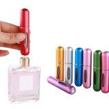 Commerce de gros Mini rechargeables en aluminium de voyage d'atomiseur de Parfum 5 ml/bouteille de parfum/flacon vaporisateur/Bouteille de verre