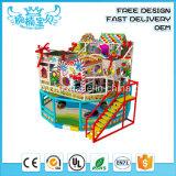 Équipement de terrain de jeux du parc d'attractions intérieur Kids Naughty Château