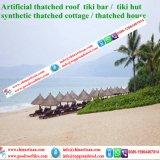 Natuurlijk kijk Synthetische Palm met stro bedekken voor Paraplu 39 van het Strand van de Bungalow van het Water van het Plattelandshuisje van de Staaf Tiki/van de Hut Tiki Synthetische Met stro bedekte