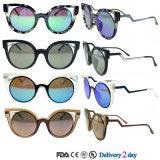 중국 도매 색안경 주문 극화된 색안경 이탈리아 디자인 세륨 UV400 색안경