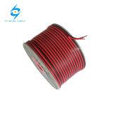 Câble de jumeau de câblage cuivre de PVC de jumeau et de terre de câble plat