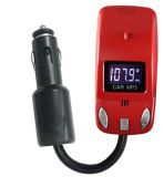 Voiture Lecteur MP3 transmetteur FM sans fil avec un câble USB pour tous les frais de téléphone mobile