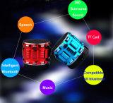 Subwoofer 소형 다채로운 휴대용 입체 음향 무선 Bluetooth 스피커