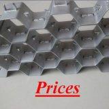 Revestimiento refractario Hex metálicos para industria petroquímica